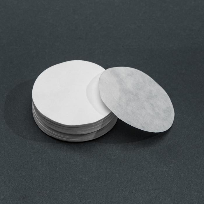 Фильтры d 55 мм, белая лента, марка ФС, средней фильтрации, набор 100 шт