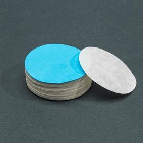Фильтры d 55 мм, синяя лента, марка ФМ, медленной фильтрации, набор 100 шт