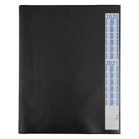 Покрытие настольное 65 х 52 см Durable 7204-01, черное, нескользящая основа, прозрачный верхний слой Ош
