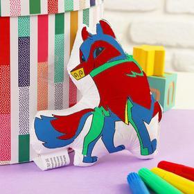 Игрушка-раскраска «Собачка»(без маркеров) в пакете Ош