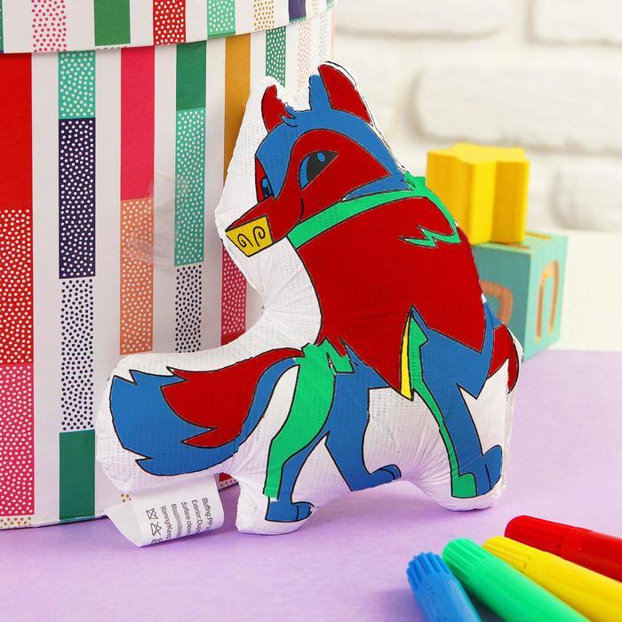 Игрушка-раскраска Собачкабез маркеров в пакете