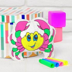 Игрушка-раскраска «Крабик» (без маркеров) в пакете Ош