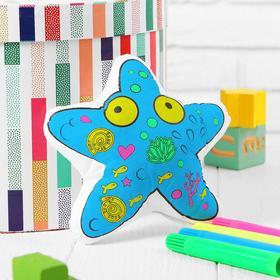 Игрушка-раскраска «Морская звезда» (без маркеров) в пакете Ош