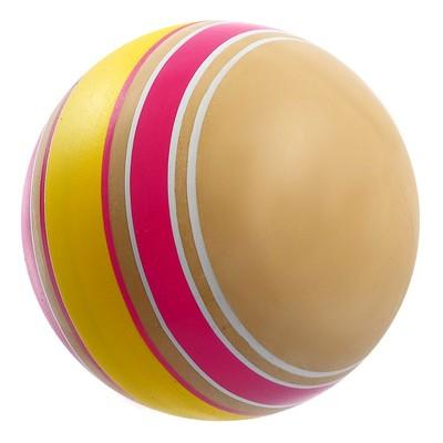 Мяч диаметр 100 мм, Эко, ручное окрашивание - Фото 1