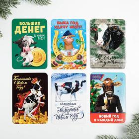 Календарь карманный «Новогодниий Микс №4», 10 шт Ош