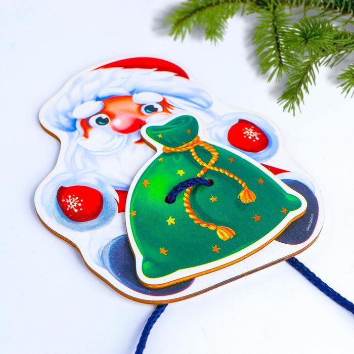 Шнуровка Дед Мороз