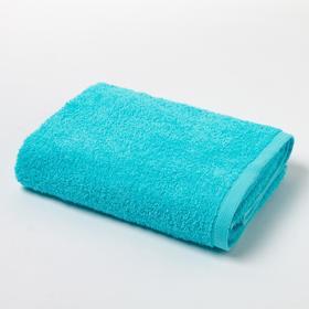 Полотенце махровое «Экономь и Я», 50х90 см, цвет небесно-голубой