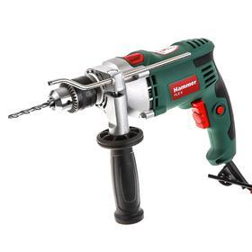 Дрель ударная Hammer Flex UDD950A, 950 Вт, ЗВП 13 мм, 3000 об/мин, реверс, металл. редуктор   522283