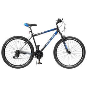 Велосипед 27.5' Black One Onix, цвет черный/синий/серый, размер 20' Ош