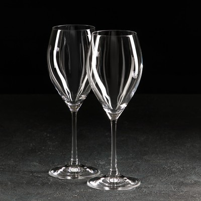 Набор бокалов для вина «София» 390 мл, 2 шт - Фото 1