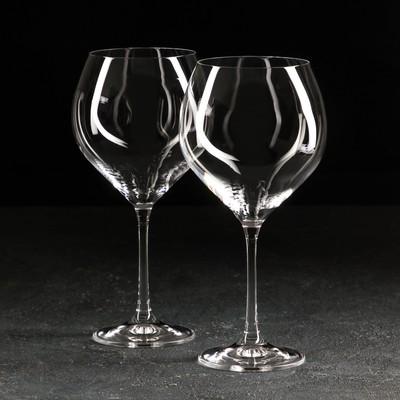 Набор бокалов для вина «София», 650 мл, 2 шт. - Фото 1