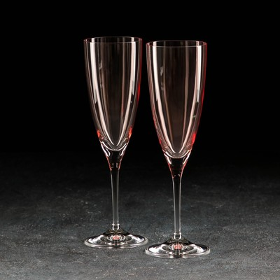 Набор бокалов для шампанского «Кейт», 220 мл, 2 шт. - Фото 1