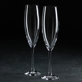 Набор бокалов для шампанского «София» 230 мл, 2 шт