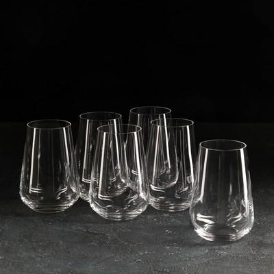 Набор стаканов для воды «Сандра», 380 мл, 6 шт.