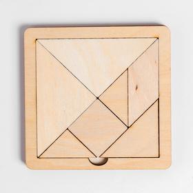Игра головоломка деревянная «Танграм» (мал) Ош