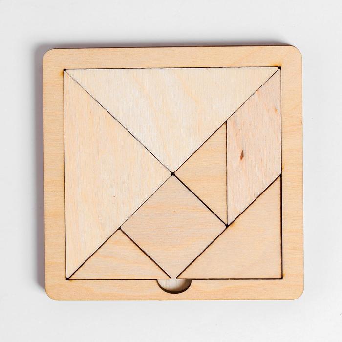 Игра головоломка деревянная Танграм мал
