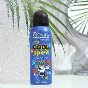 Дезодорант Deonica for TEENs  Cool Spirit, спрей , 125 мл