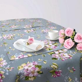 Кухонный набор «Дофине», скатерть 145 × 200 см, салфетки 40 × 40 см-6 шт