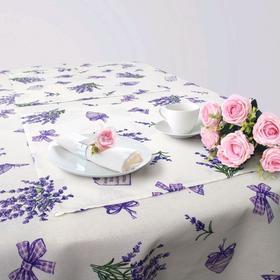 Кухонный набор «Ивелин», скатерть 145 × 200 см, салфетки 40 × 40 см-6 шт