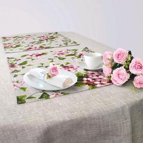 Кухонный набор «Лорен», скатерть 145 × 200 см, салфетки 40 × 40 см-6 шт