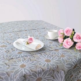 Кухонный набор «Пуату», скатерть 145 × 200 см, салфетки 40 × 40 см-6 шт