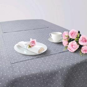 Кухонный набор «Эсон», скатерть 145 × 200 см, салфетки 40 × 40 см-6 шт