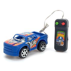 Машина «Гонка», на дистанционном управлении, работает от батареек, МИКС Ош