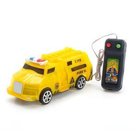 Машина «Спецсужбы», на дистанционном управлении, работает от батареек, МИКС Ош