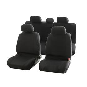 Чехлы автомобильные C2R, универсальные, черные TY1637