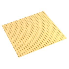 Пластина-основание для конструктора 38,5х38,5 см (диаметр 0,8 см), цвет бежевый Ош