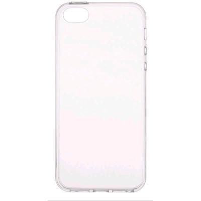 Чехол BoraSCO, для iPhone 5/5S/SE, силиконовый, прозрачный - Фото 1