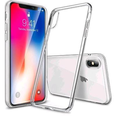 Чехол BoraSCO, для iPhone X/Xs, силиконовый, прозрачный - Фото 1