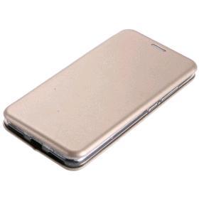Чехол-книжка NEYPO premium, для iPhone X/Xs, искусственная кожа, силикон, золотистый