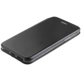 Чехол-книжка NEYPO premium, для iPhone XS Max, искусственная кожа, силикон, чёрный