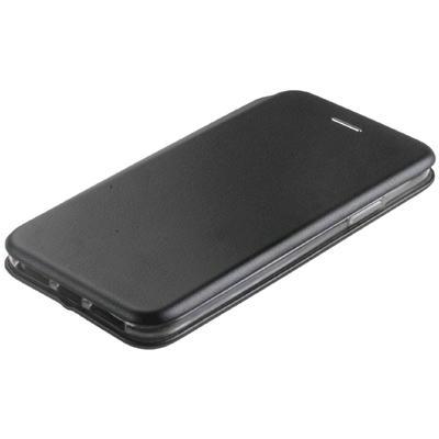 Чехол-книжка NEYPO premium, для iPhone XS Max, искусственная кожа, силикон, чёрный - Фото 1