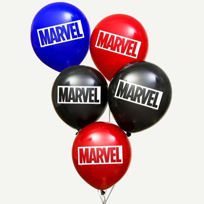 """Воздушные шары """"MARVEL"""", Мстители, (набор 25 шт)"""