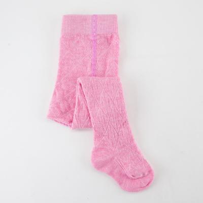 Колготки детские, цвет розовый, рост 74-80