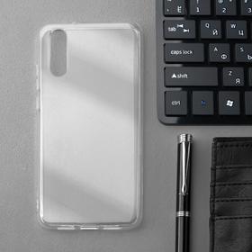 Чехол Innovation, для Huawei P20, силиконовый, прозрачный