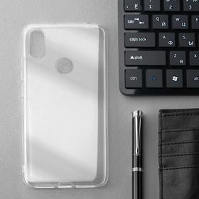 Чехол Innovation, для Xiaomi Redmi S2, силиконовый, прозрачный
