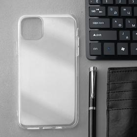 Чехол Innovation, для iPhone 11 Pro Max, силиконовый, прозрачный