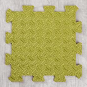 Развивающий коврик-пазл «Зелёный» 30х30х1 см Ош