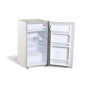 Холодильник Bravo XR-100S, однокамерный, класс А+, 100 л, DeFrosf, серый