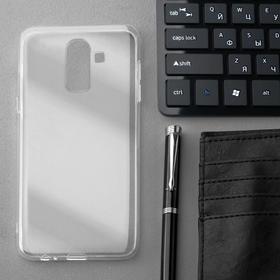 Чехол Innovation, для Samsung J8 2018, силиконовый, прозрачный