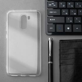 Чехол Innovation, для Xiaomi Pocophone F1, силиконовый, прозрачный