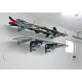 Комплект для хранения длинномеров спорт - комплект из двух кронштейнов 434х160х76, цвет серый   5235 Ош
