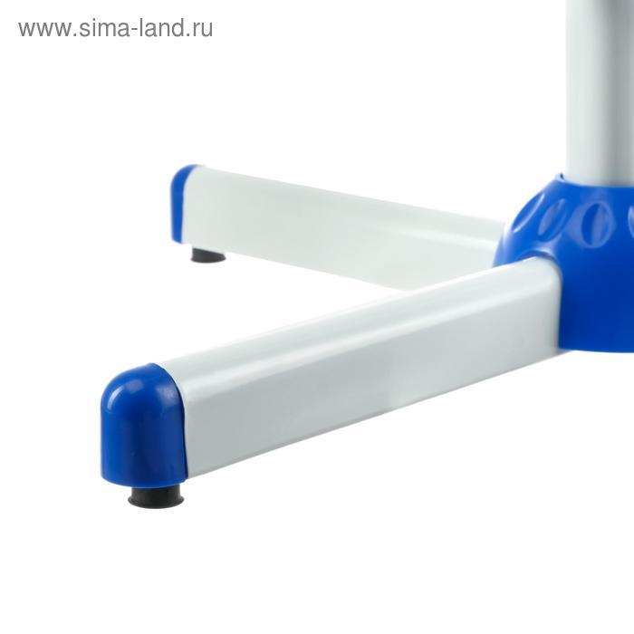 Вентилятор LOF-08, напольный, 40 - 45 Вт, 3 режима, бело-синий
