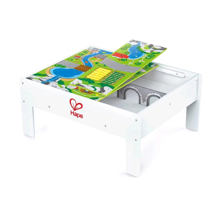 Двусторонний стол с системой хранения