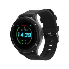 """Фитнес-браслет Ritmix RFB-450, 1.3"""", цветной дисплей, пульсомер, оповещения, 150 мАч, чёрный"""
