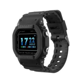 """Фитнес-браслет Ritmix RFB-600, 1.14"""", цветной дисплей, пульсомер, оповещения, 180 мАч,чёрный"""