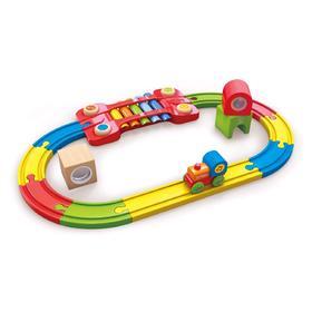 Сенсорная музыкальная железная дорога